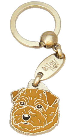 NORFOLK TERRIER <br> (keyring, engraving included)