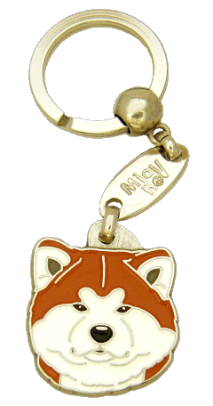 AKITA INU <br> (keyring, engraving included)