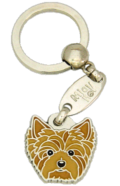 YORKSHIRE TERRIER - pet ID tag, dog ID tags, pet tags, personalized pet tags MjavHov - engraved pet tags online
