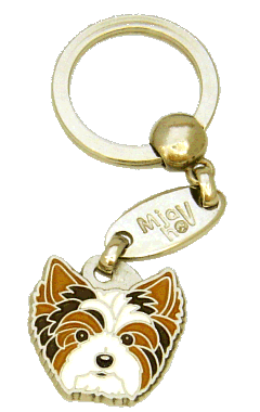 BIRO YORKSHIRE TERRIER - pet ID tag, dog ID tags, pet tags, personalized pet tags MjavHov - engraved pet tags online