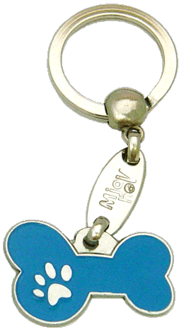 BONE MJAVHOV BLUE <br> (keyring, without engraving)