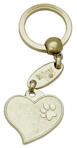 METAL HEART - pet ID tag, dog ID tags, pet tags, personalized pet tags MjavHov - engraved pet tags online
