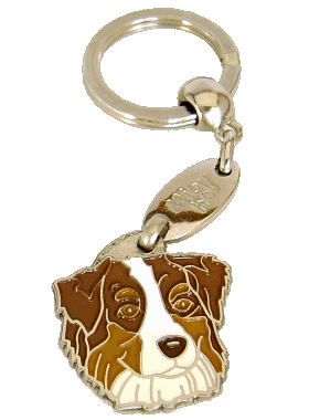 AUSTRALIAN SHEPHERD RED - pet ID tag, dog ID tags, pet tags, personalized pet tags MjavHov - engraved pet tags online