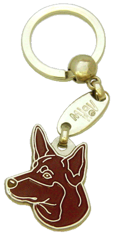 AUSTRALIAN KELPIE RED - pet ID tag, dog ID tags, pet tags, personalized pet tags MjavHov - engraved pet tags online