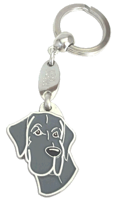 GREAT DANE BLUE - pet ID tag, dog ID tags, pet tags, personalized pet tags MjavHov - engraved pet tags online