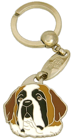 ST. BERNARD - pet ID tag, dog ID tags, pet tags, personalized pet tags MjavHov - engraved pet tags online
