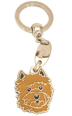 CAIRN TERRIER RED - pet ID tag, dog ID tags, pet tags, personalized pet tags MjavHov - engraved pet tags online