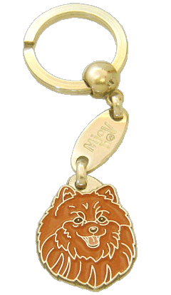 POMERANIAN <br> (keyring, without engraving)