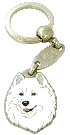 SAMOYED - pet ID tag, dog ID tags, pet tags, personalized pet tags MjavHov - engraved pet tags online