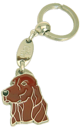 IRISH SETTER - pet ID tag, dog ID tags, pet tags, personalized pet tags MjavHov - engraved pet tags online