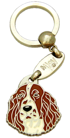 SPRINGER SPANIEL RED AND WHITE - pet ID tag, dog ID tags, pet tags, personalized pet tags MjavHov - engraved pet tags online