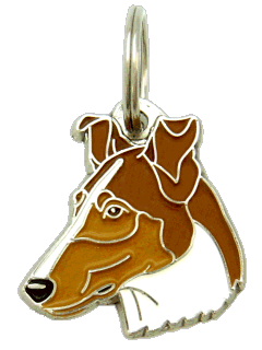 Collie pêlo curto marta - pet ID tag, dog ID tags, pet tags, personalized pet tags MjavHov - engraved pet tags online