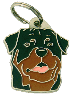 Rottweiler - pet ID tag, dog ID tags, pet tags, personalized pet tags MjavHov - engraved pet tags online