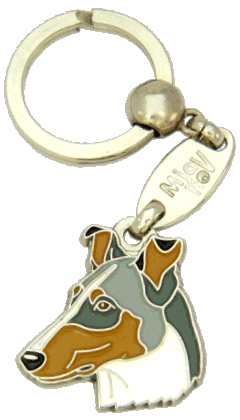Collie pêlo curto azul merle - pet ID tag, dog ID tags, pet tags, personalized pet tags MjavHov - engraved pet tags online