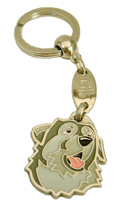 Pastor de kraski - pet ID tag, dog ID tags, pet tags, personalized pet tags MjavHov - engraved pet tags online