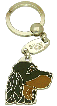 Setter gordon - pet ID tag, dog ID tags, pet tags, personalized pet tags MjavHov - engraved pet tags online